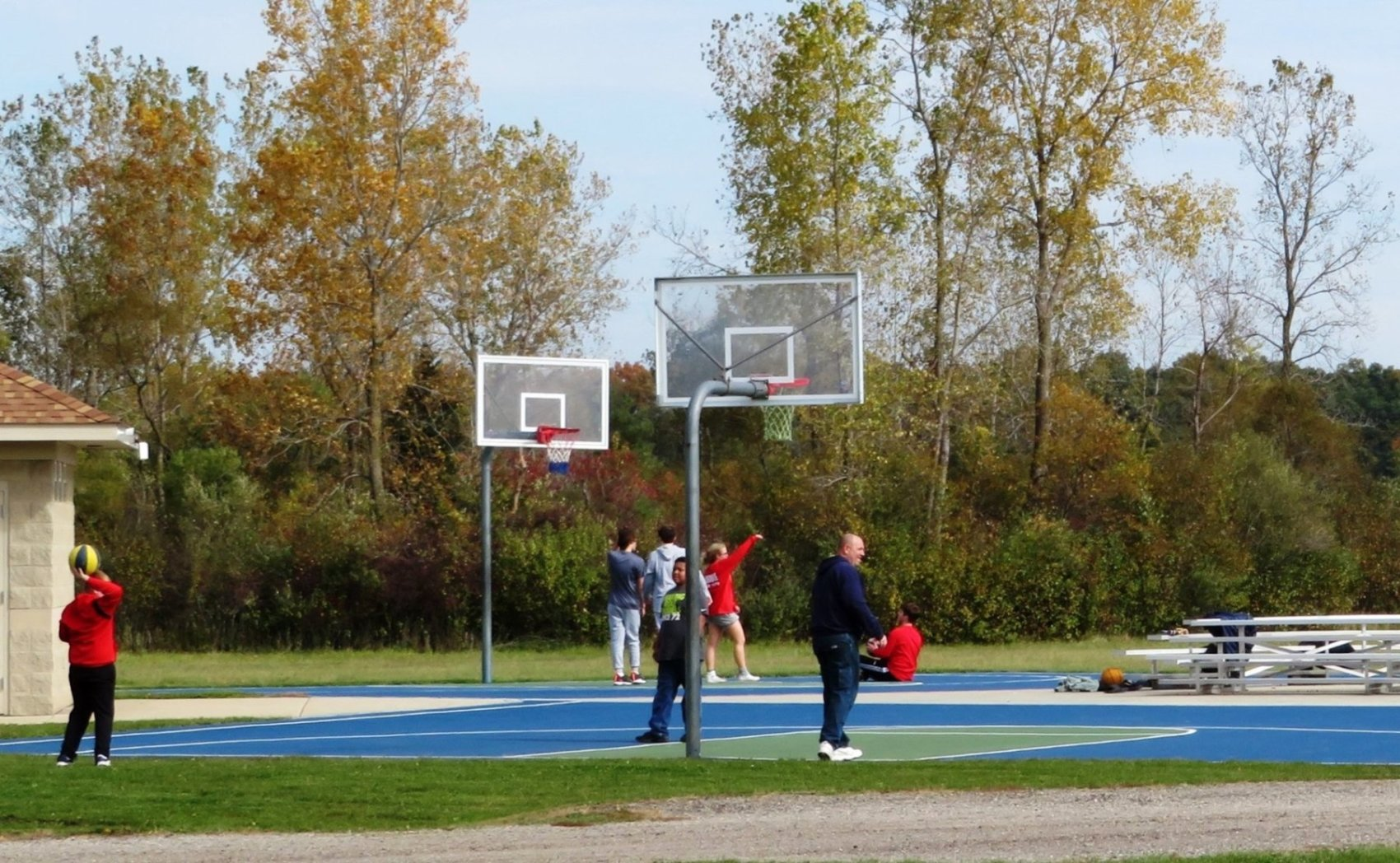 Greenwood Acres Family Campground Basketball Courts